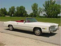 1975 Cadillac Eldorado convertible. Just took in on