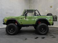 Stock #494-TPA 1975 Ford Bronco $70,000  Engine: 302