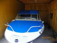 For Sale: A really sharp 18' 1976 Larson boat with a