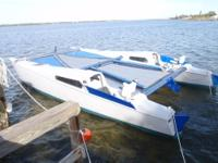 29' super hot, very fast, Warrior Catamaran 90%