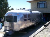This is a collector. The airstream is a 30 foot 1976