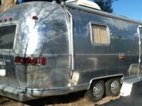 ,,,,,,,,,,1976 - Airstream Travel TrailerUp for bids is