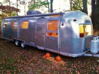 This camper is 31 feet long and weighs about 5000