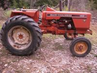 1976 Allis Chalmers 160 Tractor Less than 500 hours on