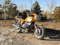 1976 BMW R90s Daytona Orange. 24,000 miles, like new