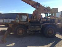 Cranes All-Terrain. 1976 Bucyrus BE250 Used 1976