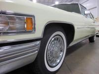 GR Auto Gallery presents a 1976 Cadillac coupe DeVille
