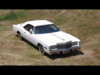 This 1976 Cadillac Eldorado Convertible has been very