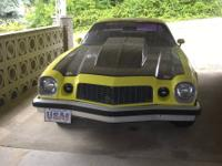 1976 Camaro, not a show car, but a head turner. Has 327
