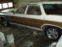 1976 Chevrolet Caprice Estate Wagon-ONLY 66K ACT.MLS!