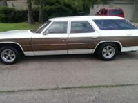 1976 CHEVROLET CAPRICE ESTATE WAGON, ONLY 66K ACT MLS,