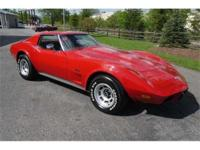 An exceptionally nice 1976 Corvette with very low