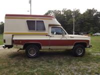 Up For Sale is this 1976 Chevrolet K5 Blazer Chalet