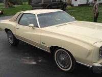 This is a 1976 Chevy Monte Carlo that looks like it