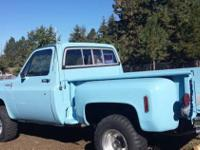 1976 Chevrolet Stepside 4x4 (OR) - $18,000 1976 classic