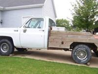 1976 Chevy 1/2 ton, 4X4, 350 engine, 12,000 (76,000 on