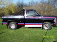 The truck is a 1976 Chevy 4X4 With warren lock out