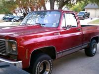 1976 Chevy 2wd C10 short bed - daily driver. Looking to