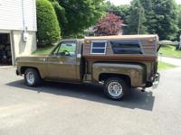 1976 CHEVROLET C10 step side Color Code 81, Moss Gold,