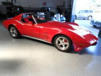 1976 Chevy Corvette. Collector owner with only 50,559