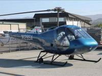 1976 ENSTROM F28C Helicopter, Recent Full Restoration,