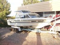 Very clean, very dependable; a great Lake Powell boat.