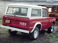 *1976 FORD BRONCO* HARD TO FIND!! *Garaged since 1992