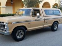 1976 Ford F-150 ... 390V8,4 speed, A/C, power steering,