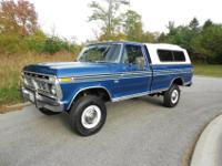 1976 Ford F250 4x4 Ranger XLT All Original Survivor