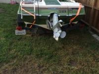 1976 glastron tri-hull with volvo penta 4 cyl inboard