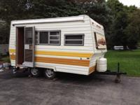 travel trailer sleeps 4 to 6. Double axle . New tires.