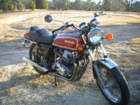 I have a 1976 Honda 750 incredibly sport for sale. It