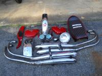 Original 1976 Honda CB 750 K four parts including both