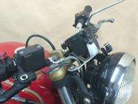 Honda CB400F Beautifully crafted brackets for tacho,