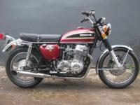 1976 Honda CB750. Manufacturing date 4/76. This bike