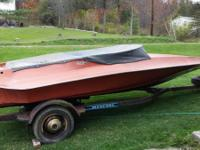 1976 Hydrostream Vector. Hull and trailer. No motor,