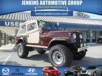1976 Jeep Cj-7 2 Dr Cab Our Location is: Jenkins Acura
