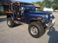 1976 JEEP CJ7**Transmission: 700R4**Mileage: