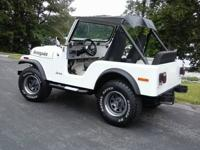 1976 Jeep CJ5.Frame off restoration.New full fiberglass