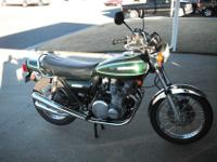 REALLY NICE, LOW MILE 1976 KZ 900. THIS KZ 900 IS