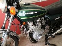 1976 Kawasaki KZ900 A4. Runs like new, perfect. Looks