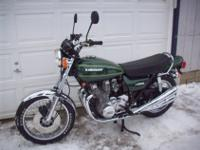 Here is a very nice original bike, very low miles, runs