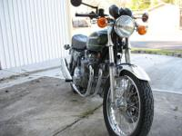 1976 Kawasaki KZ900A4 Engine No. Z1E-089890 and Frame