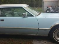 I have a 1976 Lincoln Continental Mark IV in excellent