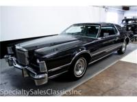 This 1976 Lincoln Mark 4 Black Diamond Edition (Stock #