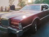 This is a beautiful 1976 Lincoln Continental Mark IV