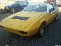76 LOTUS ECLAT FOR SALE , The good ,body and exterior