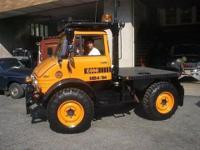 1976 Mercedes Benz Unimog (NJ) - $41,900 with Schmidt