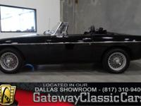 #15DFW Vehicle is located in the DFW Airport  1976 MG