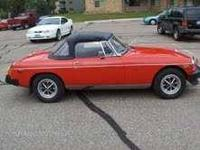 1976 MG MGB Convertible Import Classic This classic has